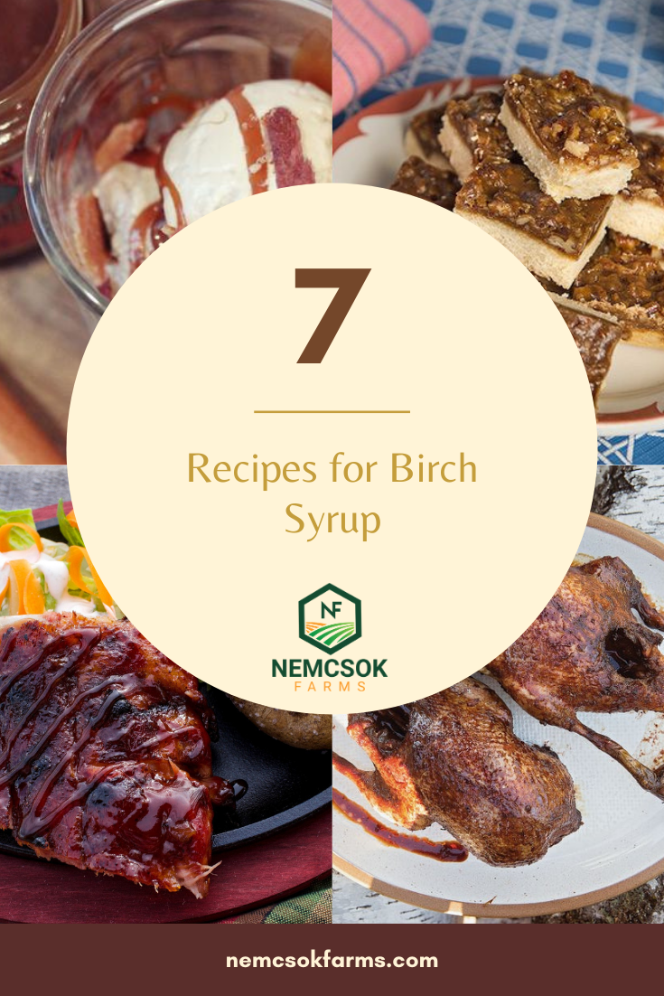 Head to our shop, and get yourself some Pure Birch Syrup and then try one of these epicurean Birch Syrup Recipes!